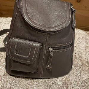 New Tignanello leather knapsack